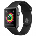Часы Apple Watch 3 38mm Aluminum Case with Sport Band Space Grey MR352