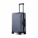 "Чемодан, NINETYGO Thames Luggage 24"", 6972125142955, Серый"