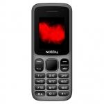 Мобильный телефон Nobby 101 серо-черный