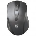 Мышь беспроводная Defender Datum MM-265 черный,3 кнопки, 800-1600 dpi, НОВИНКА!