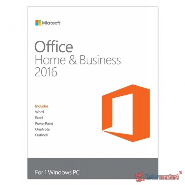 Microsoft Office Home and Business 2016 32-bit/x64 Russian Kazakhstan Only DVD